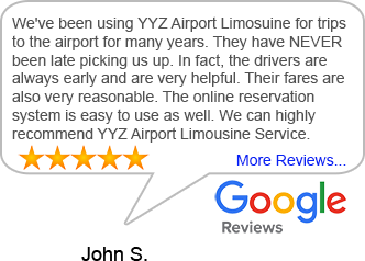 Airport Limousine Reviews for YYZ Toronto Airport Limo