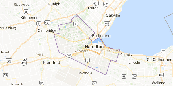 Limousine Rental Hamilton Region - Albion Falls, Ancaster, Binbrook, Carlisle, Dundas, Flamborough, Hamilton, Kilbride, Mt Hope, Stoney Creek, Waterdown, Winona